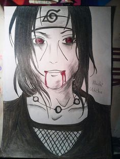Itachi Uchiha (Naruto) ~ by Feli ♦