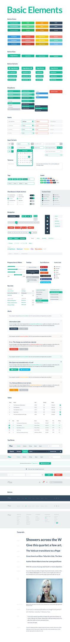 Flat UI Pro - PSD User Interface Kit - Designmodo