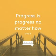 Even if you can't measure it today, tomorrow or next week. Looking back a year from now you will see a difference in where you were and where you are now. Progress is measured in many ways, through much elapsed time. No matter how small, never stop progressing. #spillyourgutsy