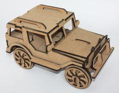 Buy 3 D Puzzle Jeep Kit Form NOT Assembled for R650.00