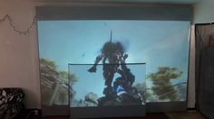 PAINT A MASSIVE SIZE SCREEN! OR WHATEVER SIZE YOU WANT WITH OUR NEW 1 - ...