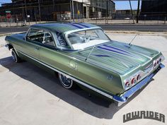 1963 CHEVROLET IMPALA SS CONVERTIBLE – THE TROPHY WIFE
