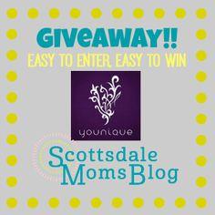 Blog post about #Younique on www.scottsdalemomsblog.com plus a giveaway!