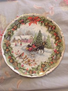 Royal Albert England Bone China Christmas
