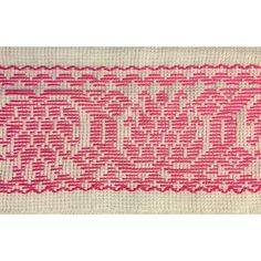 Kasuti Embroidery, Embroidery Stitches, Embroidery Patterns, Hand Embroidery, Stitch Patterns, Mexican Embroidery, Cross Stitch Borders, Bargello, Darning