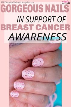 Show your support for breast cancer awareness with Pink Warrior, a ballet pink topped with pink holographic glitter. For the month of October 2020, the Color Street Foundation is pledging $200,000 to four organizations that fund awareness, research, and direct support programs for individuals and families affected by breast cancer. #breastcancerawareness #pinknails #supportbreastcancer #colorstreetfoundation