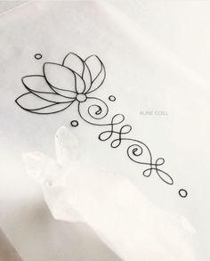 Pretty Tattoos, Cute Tattoos, Tatoos, Finger Tattoos, Body Art Tattoos, Lottus Tattoo, Tattoo Designs, Ornamental Tattoo, Unalome Tattoo