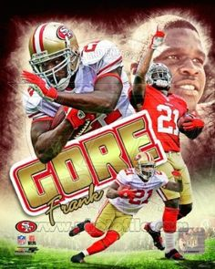 Frank Gore San Francisco 49ers 2012 NFL Picture/Poster