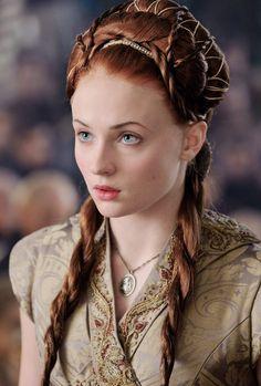 Sophie Turner as Sansa Stark in Game of Thrones 3.08