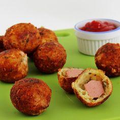 Virslis partifalatkák Recept képpel - Mindmegette.hu - Receptek Grilling, Muffin, Paleo, Food And Drink, Cooking, Breakfast, Ethnic Recipes, Ramadan, Kitchen