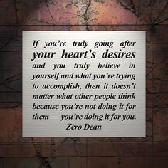 Excerpt from: 20 things I've learned about determination & commitment in 333 days.  #zerosophy