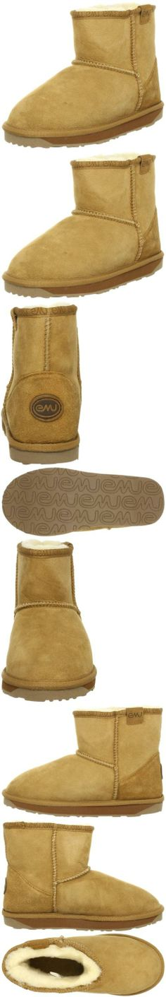 EMU Australia Women's Stinger Mini Water Resistant Boot, Chestnut