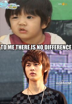YooGeun (Hello Baby) and MinHo (SHINee) macro