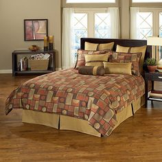 Chelsea Frank Eternity 9-Piece Queen Comforter Set
