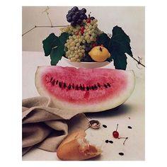 Still Life Watermelon (1947) by #IrvingPenn