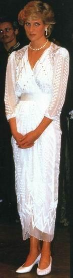 Zandra Rhodes Silk Chiffon Evening Dress Photograph