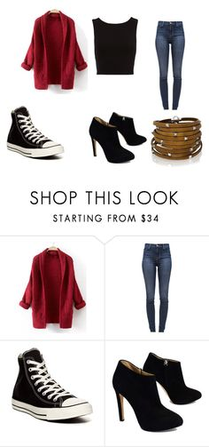 """""""Untitled #155"""" by sierrapalmer10 on Polyvore featuring J Brand, Converse, Giuseppe Zanotti and Sif Jakobs Jewellery"""