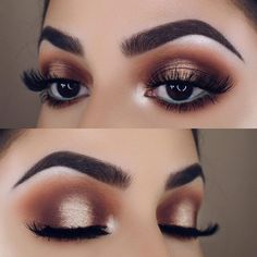 Golden Smokey Eye Makeup Tutorial by Lisa Eldridge Gorgeous golden smoky eyes makeup inspiration. Make Up Tutorial Contouring, Smokey Eye Makeup Tutorial, Eye Makeup Tips, Makeup Inspo, Eyeshadow Makeup, Halo Eye Makeup, Eyeliner Ideas, Makeup Ideas, Eyeshadow Palette