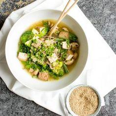 Vegan Miso Noodle Soup