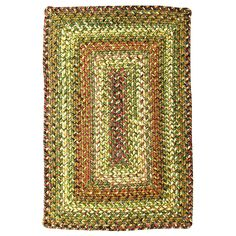 Rainforest Braided Indoor/Outdoor Ultra Durable Rectangle Rug