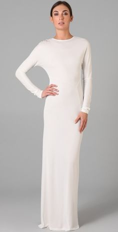 """PearlDaisy uses the term """"hijabify""""... I don't think it would take much to hijabify this classic maxi sheath dress and turn it into something even lovelier than it already is!"""
