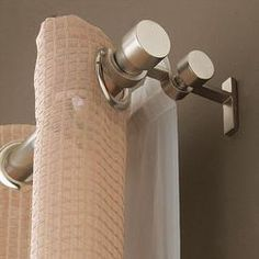 double curtain rod, would be perfect for our blackout/sheers.