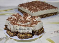 Delicious Deserts, Tiramisu, Biscuit, Food And Drink, Sweets, Bread, Cookies, Baking, Ethnic Recipes