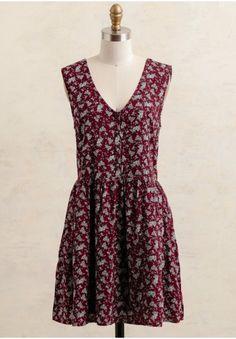 Pretty Please Printed Dress  at shopruche.com