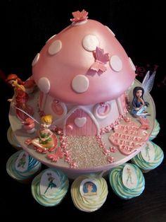 Toadstool cake x