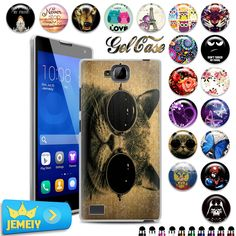 UV Printed Soft Case For Huawei Honor 8 5C 3C play Nexus 6P P7 P8 Lite P9  4A Y6 4C 4X 6 7 G7 phone Silicon Case Tempered glass #clothing,#shoes,#jewelry,#women,#men,#hats,#watches,#belts,#fashion,#style
