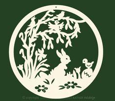 Die 412 Besten Bilder Von Ostern Papercutting Cut Outs Und