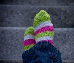 Fuzzy socks :)