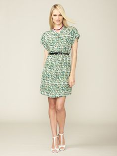 Justine Belted Silk Shirt Dress by Miha - the perfect summer work dress