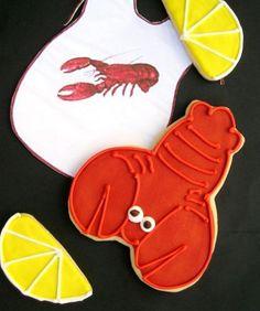 Lobster cookies as pre-wedding snack