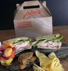 Alon's Bakery- virginia highlands. Great gourmet sandwiches and dessert