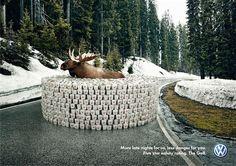 Kreative Volkswagen Print-Kampagnen gefunden auf www.klonblog.de gepinned von der Hamburger Werbeagentur BlickeDeeler. Ihr wollt mehr Infos über die Agentur? www.BlickeDeeler.de