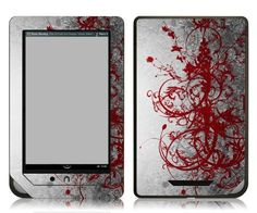 Bundle Monster Barnes & Noble Nook Color Nook Tablet eBook Vinyl Skin Cover Art Decal Sticker Accessories - Red Vines - Fits both Nook Color and Nook Tablet (Released Nov. 7, 2011) Devices by Bundle Monster. $9.99. This design skin set helps protect and stylize your ebook Barnes & Noble Nook Color and Nook Tablet only. This skin will not fit the older generation Black and White Nook or the Nook Touch. Skins are made up of a superb vinyl material that is enviro...