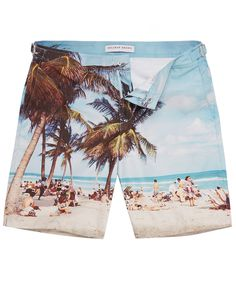 Cute Safari Animals On Africa Men Board Shorts Casual Printed Trunks Work Casual Shorts