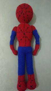 AMİGURUMİ ÖRÜMCEK ADAM TARİFİ Spiderman, Batman, Play Pokemon, Leg Warmers, Free Pattern, Knitting, Knits, Crochet Animals, Spider Man