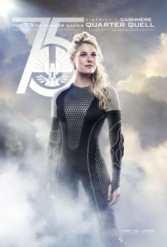 Half of District 1 sibling victors, the beautiful Cashmere. #CelebrateYourVictors