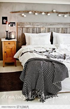Draumesidene: Soverom | Bedroom & By Nord na Stylowi.pl