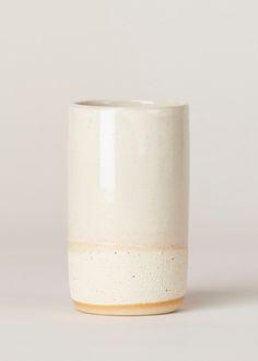 Kati Von Lehman Stoneware Tall Mug (White)