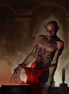 Fantasy Art of Brom Darkest artist of Fantasy Arte Horror, Horror Art, Dark Fantasy Art, Dark Art, Dcc Rpg, Gothic Fairy, Sword And Sorcery, Fantasy Illustration, Sci Fi Art