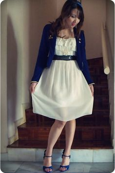 blue-jacket-white-korean-dress-blue-vincci-shoes_400.jpg (400×600)