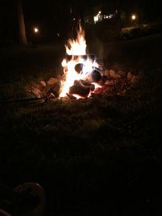 Bonfire after party