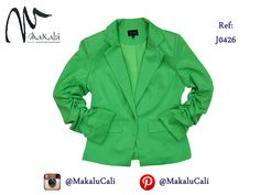 Blazers en Colores cítricos... #modafemenina #makalu #makalucali #tendencias #ropaamericana #fashionweek #outfit #neon #moda #cali #colombia