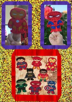 Finger Puppets, Embroidery Designs, Superhero, Sewing, Create, Boys, Baby Boys, Dressmaking, Couture