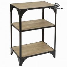 Etagère toronto - Collection Thunder by Craften Wood