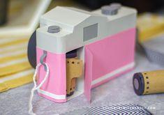 Vintage Camera - 3D Cut File   Designs By Miss Mandee Paper Camera, 3d Camera, Retro Camera, Film Camera, Leica Camera, Nikon Dslr, Camera Gear, 3d Paper Crafts, Diy Paper