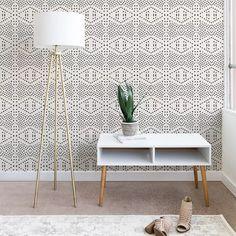 Holli Zollinger Boho Tile Wallpaper Buff Beige - Deny Designs : Target